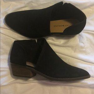 Lucky brand booties black 9.5